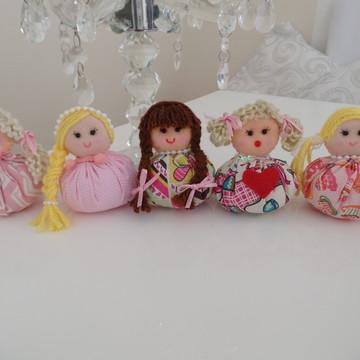 Bonecas sachês lembrancinhas festa aniversário