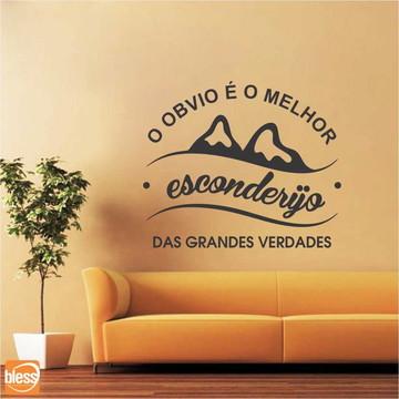 Adesivo Recorte Vinil Frase MOD.ARFR00025 50x45cm