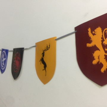 Kit Bandeira Game of Throne