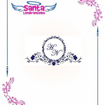 Monograma de Casamento - SL 1163