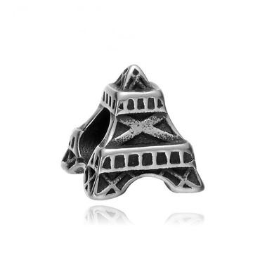Berloque de Aço Inox 360L-TORRE EIFFEL