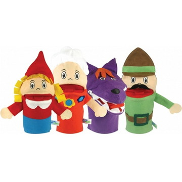 Fantoches - Histórias Infantis - Chapeuzinho Vermelho - Papo