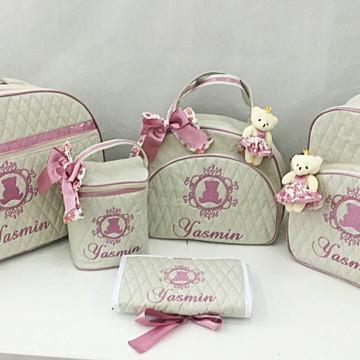 Bolsa de bebê 5 peças
