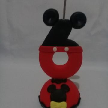 Vela de aniversario Mickey