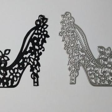 Faca De Corte Para Scrapbook Sapato Feminino