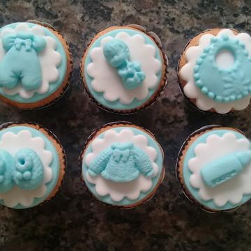 Mini Cupcakes - Chá de Bebê