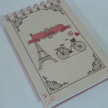 Bloco personalizado tema Paris