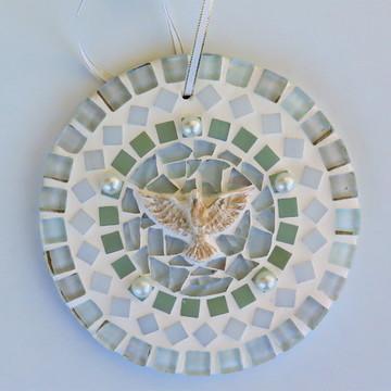 Mandala Divino em mosaico mini perolada