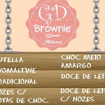 Brownie - Sabores