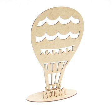Balão Personalizado Mdf Cru Lembrancinha