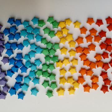 Estrelinhas   Decoração em Origami