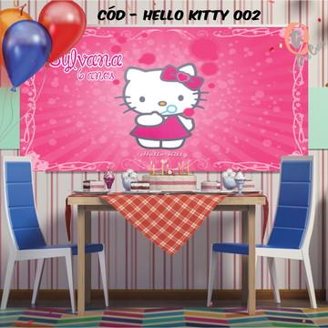 Painel festa decoração hello kitty