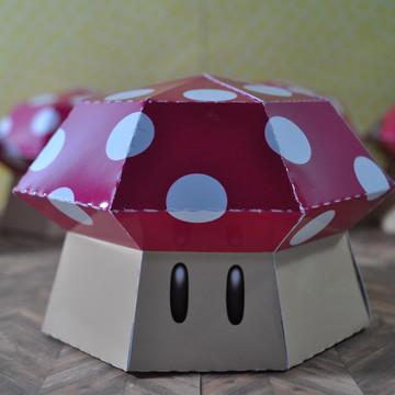 Caixa Cogumelo Super Mario