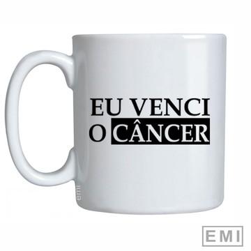 Caneca Eu venci o cancer