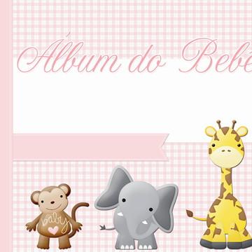 Álbum para menino ou menina personalizado para imprimir