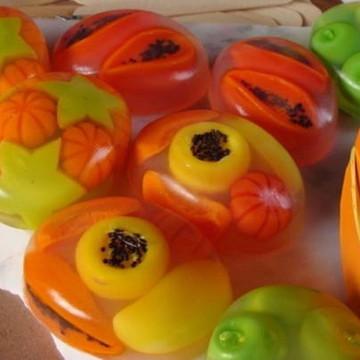 Sabonete Frutas - Frutas Tropicais