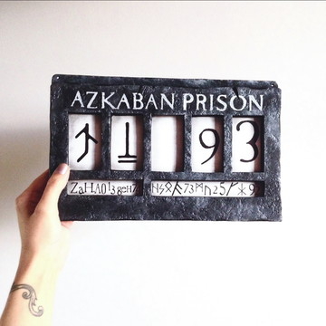 Placa de Azkaban - Bellatrix Lestrange