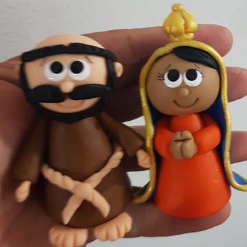 Nossa Senhora Aparecida e São Francisco de Assis