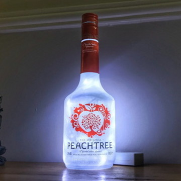 Luminária de garrafa Peachtree Licor