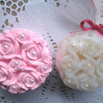 Sabonete Artesanal Rosa de Marrocos