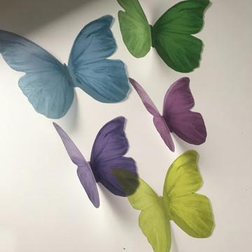 Objeto Decorativo - Borboletas 3D LOVELY