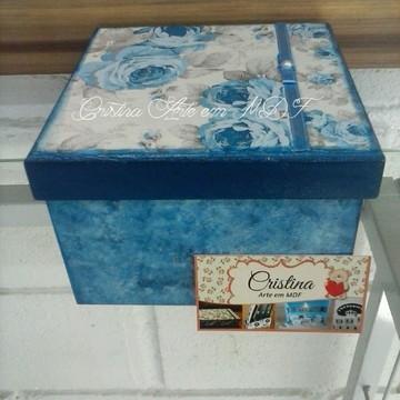 Caixa presente 15x15x10