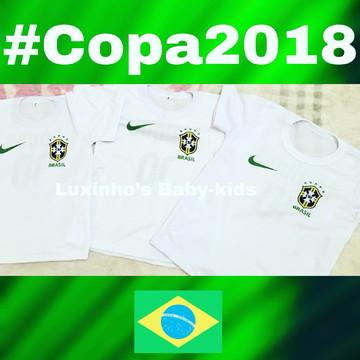Camiseta infantil copa 2018