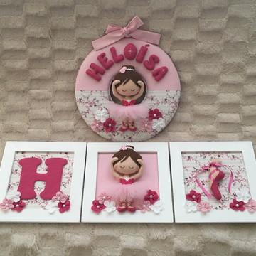Kit decoração Bailarina