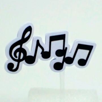 Topper - Notas Musicais/Musica