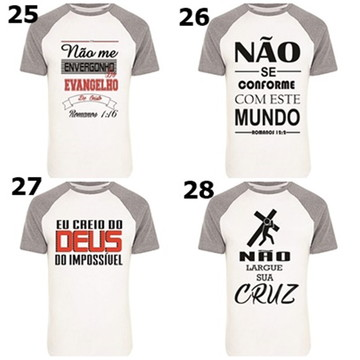 b0224ff13 5 camisas envagélicas com frases biblicas