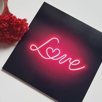 Placa Decorativa MDF LOVE