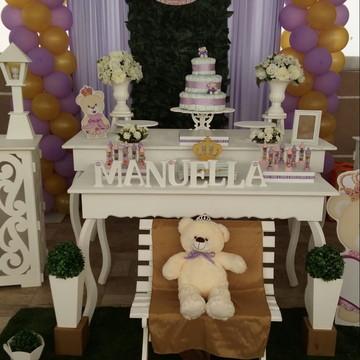 Decoração Ursa Princesa Locação
