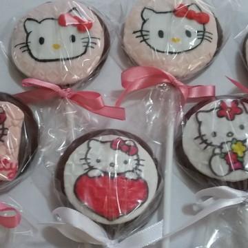 Pirulitos festa Hello Kitty