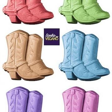 Lembrança Sabonete fazendinha Caipira bota cowboy roça