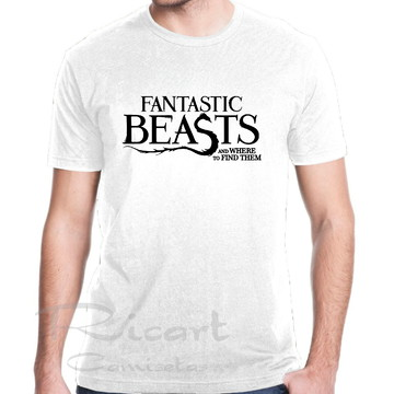 Camiseta Harry Potter Animais Fantásticos