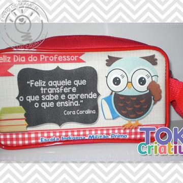 Estojo Dia dos Professores Personalizado