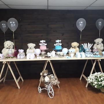 Decoração completa Urso Balão