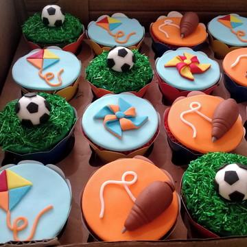 Cupcakes - Brinquedos de Menino