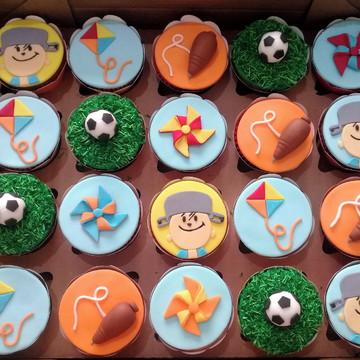 Cupcakes - Menino Maluquinho