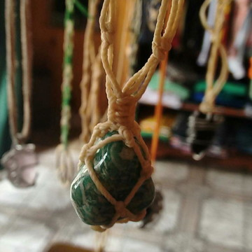 Colar Castroado Pedras Amazonita