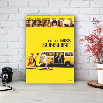 Placa Decorativa Pequena Miss Sunshine Poster Tamanho M