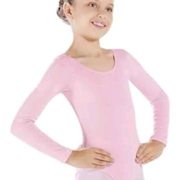 9ae590594c Collant de Ballet Body de Bale Manga Longa