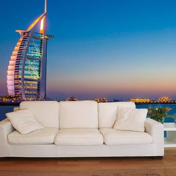 Papel de Parede 3D Cidades 0002 (Dubai) - Adesivo de Parede