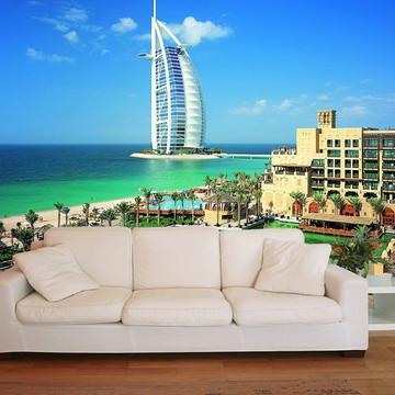 Papel de Parede 3D Cidades 0006 (Dubai) - Adesivo de Parede