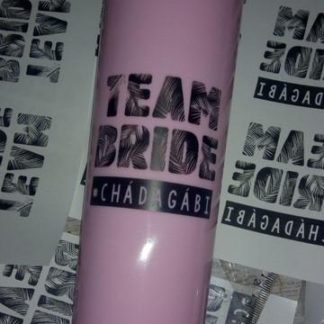 Long Drink Team Bride e Bride Frente e Verso