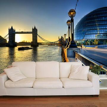 Papel de Parede 3D Cidades 0002 (Inglaterra ) Adesivo 3D