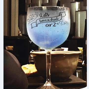 Taça de Gin - Personalizada somente frente