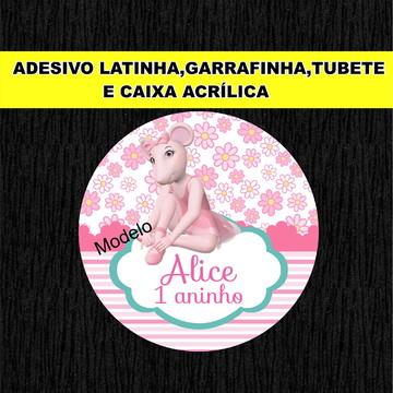 Adesivo Latinha Angelina Ballerina .