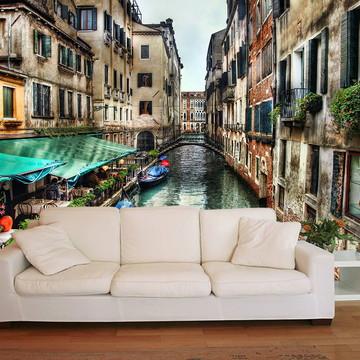 Papel de Parede 3D Cidades 0001 (Italia) Adesivo de parede