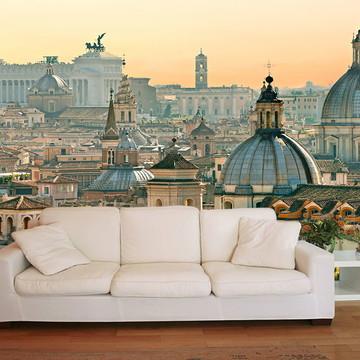 Papel de Parede 3D Cidades 0002 (Italia) Adesivo de parede